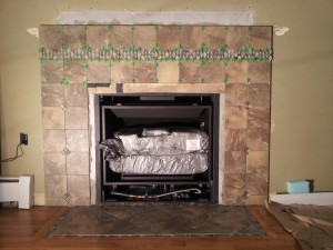 Fireplace Rebuild
