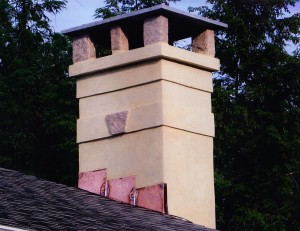 Chimneys Plus Rebuild Stucco After