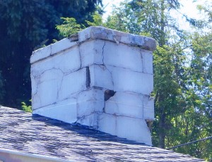 Chimneys Plus Rebuild Stucco Before
